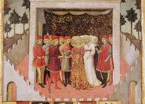 Noble Marriage, 1473 von Sano di, also Ansano di Pietro di Mencio Pietro