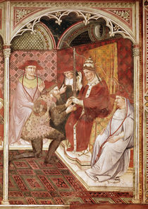 Story of Pope Alexander III by Aretino Luca Spinello or Spinelli