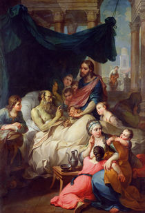 Death of Tobias's Father, 1733 by Pierre Parrocel