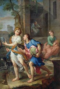 Departure of the young Tobias von Pierre Parrocel