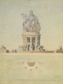 Project for the monument destined for the Place de l'Europe von Antoine Etex