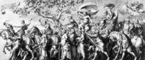 The Triumph of Riches, drawn by Jan de Bisschop von Hans Holbein the Younger