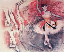 Dancer with Tambourine, or Spanish Dancer by Edgar Degas
