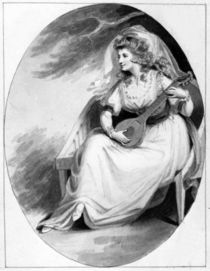 Elizabeth Farren in the role of Olivia by Edward Francis Burney