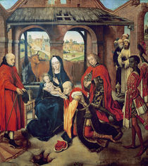 Adoration of the Magi von Hans Memling