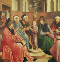 Christ Among the Doctors by Quentin Massys or Metsys