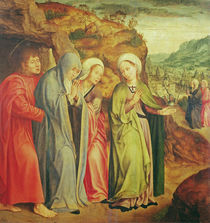 Lamentation after the death of Christ by Quentin Massys or Metsys