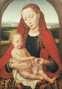 Virgin and Child, c.1485-90 by Hans Memling