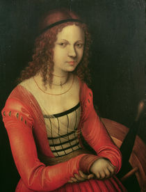 Saint Catherine by Lucas, the Elder Cranach