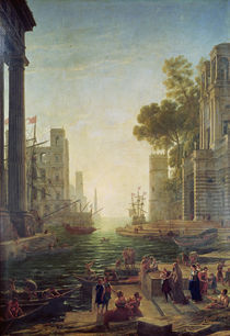 Embarkation of St. Paul at Ostia by Claude Lorrain