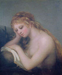 Mary Magdalene, 1810 by Francisco Jose de Goya y Lucientes