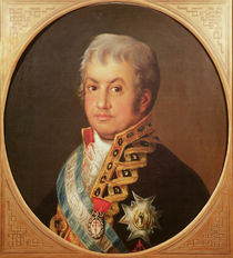 Portrait of José Antonio, Marqués de Caballero von Francisco Jose de Goya y Lucientes