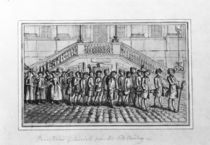 Procession of Convicts from the Old Bailey by English School