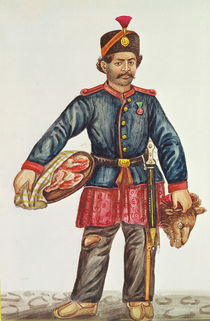Butcher in Persia by French School