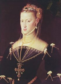 Archduchess Maria of Austria by Anthonis van Dashorst Mor