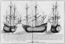 Dutch store ships, La Rochelle by French School