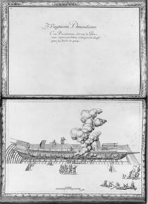 Caulking a galley, twentieth demonstration von French School