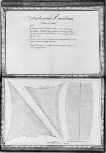 Sails of a galley, twenty-eighth demonstration von French School