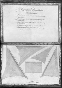 Sails of a galley, twenty-ninth demonstration von French School