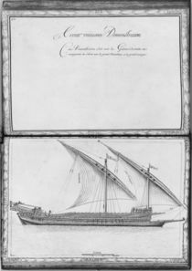 A seaworthy galley, thirty-first demonstration by French School
