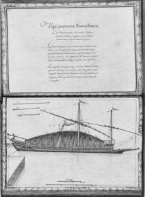 A galley being moored, twenty-fourth demonstration von French School