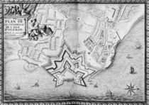 Ms 4418 T II carte 16, Plan of the Citadel of l'Isle d'Oleron by French School
