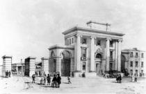 Entrance to Birmingham Station von John Cooke Bourne