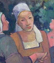 Breton Peasants, 1894 von Paul Gauguin