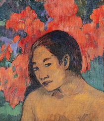 And the Gold of their Bodies von Paul Gauguin