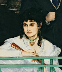The Balcony, 1868-9 by Edouard Manet