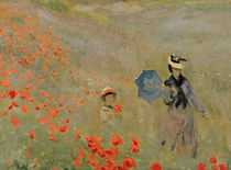 Wild Poppies, near Argenteuil von Claude Monet