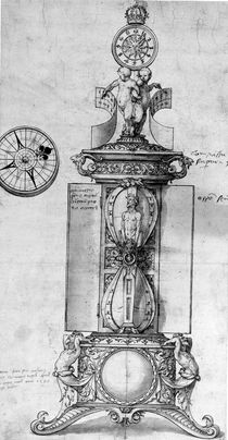 Design for a Clocksalt, c.1543 by Hans Holbein the Younger