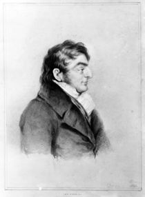 Portrait of Joseph Mallord William Turner von Charles Turner