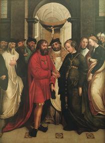 Saint Aleixo's Wedding of Manuel and Maria by Garcia Fernandes