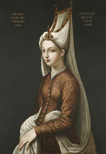 Haseki Hurem Sultan, 1541 by Ottoman School