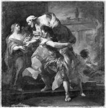 Aeneas carrying Anchises, 1729 von Carle van Loo