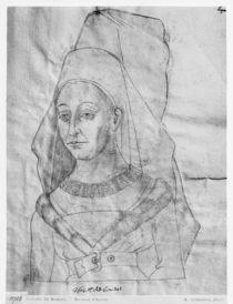 Ms 266 fol.63 Isabella of Bourbon von Flemish School