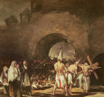 Procession of the Penitents by Francisco Jose de Goya y Lucientes