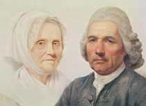 The artist's parents by Simon (1735-1800_ Julien