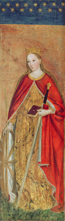St. Catherine of Alexandria by Ludovico Brea