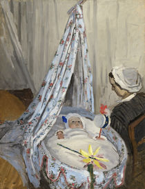 The Cradle, Camille with the Artist's Son Jean by Claude Monet