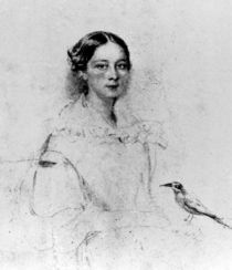 Portrait of Emily Shore , 19th Century von English School
