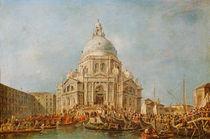 The Doge of Venice at the Festa della Salute von Francesco Guardi