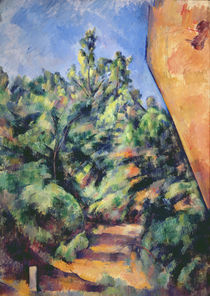 Red rock, c.1895 by Paul Cezanne