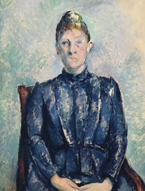 Portrait of Madame Cezanne by Paul Cezanne