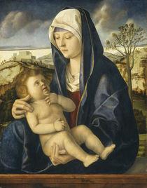 Madonna and Child in a Landscape von Giovanni Bellini
