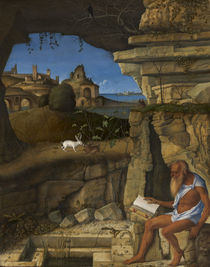 Saint Jerome Reading, 1505 by Giovanni Bellini
