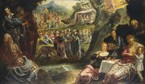 The Worship of the Golden Calf by Jacopo Robusti Tintoretto