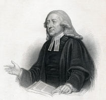 Portrait of Reverend John Wesley A. M. by English School