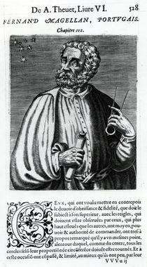 Ferdinand Magellan, 16th Century by Andre Thevet